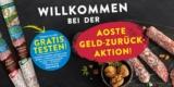 Aoste Wurst (Edel- oder Walnuss-Salami 150g) gratis testen [Geld-zurück-Aktion]