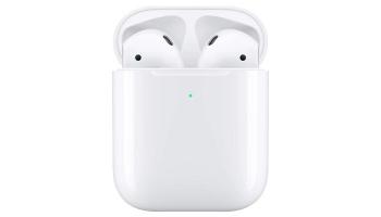 Apple AirPods 2 Bluetooth Kopfhörer mit Kabel-Ladecase für 99,17€