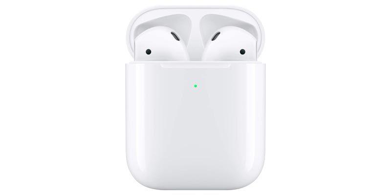 Apple AirPods 2 Bluetooth Kopfhörer mit Kabel-Ladecase für 114,50€
