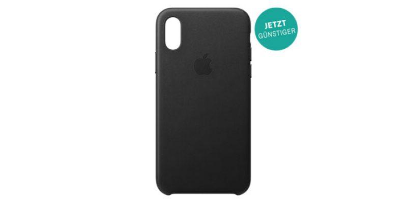 Apple Leder Case für iPhone 11, 11 Pro, 8, 8 Plus, XS oder XS Max für 27,50€