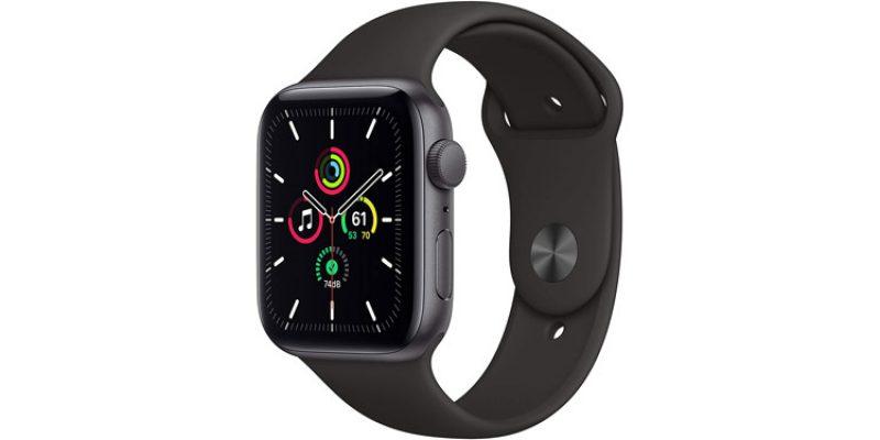 Apple Watch SE (GPS, 44 mm) mit Aluminiumgehäuse für 280,74€