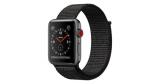 Apple Watch Series 3 LTE (GPS + Cellular) 42mm mit Sport Loop schwarz für 299,90€