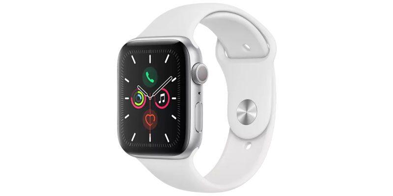 Apple Watch Series 5 WLAN (44 mm) mit Aluminiumgehäuse für 355,55€