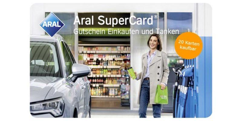 42€ Aral SuperCard für 32€ kaufen – mehrere kaufbar & kombinierbar
