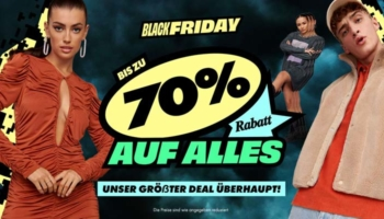 ASOS Black Friday Wochenende 2020: bis zu 70% Rabatt auf alles + 20% Gutschein