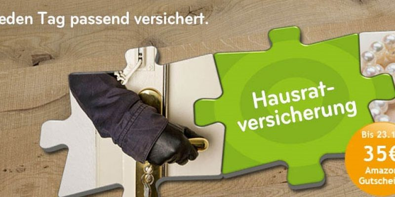 Asstel Hausratversicherung mit 35€ Amazon Gutschein!