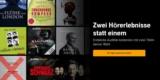 Audible Abo 30 Tage kostenlos testen: 2x Hörbücher gratis für Neukunden