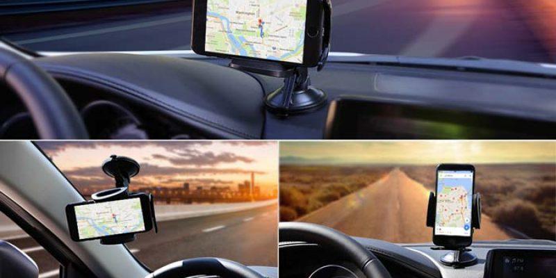 Aukey Saugnapf Handyhalterung fürs Auto (alle gängigen Smartphones) für 4,99€