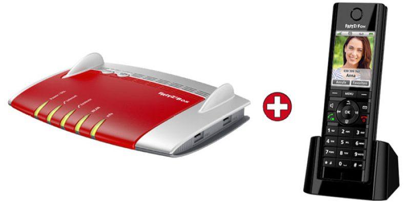 AVM FRITZ!Box 7490 WLAN-Router + FRITZ!Fon C5 für 170,99€