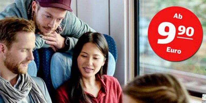 Deutsche Bahn Super Sparpreis Gruppe ab 9,90€ pro ICE Fahrt (ab 6 Personen)