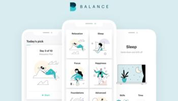 Balance Meditations-App für 1 Jahr kostenlos (nur iOS)