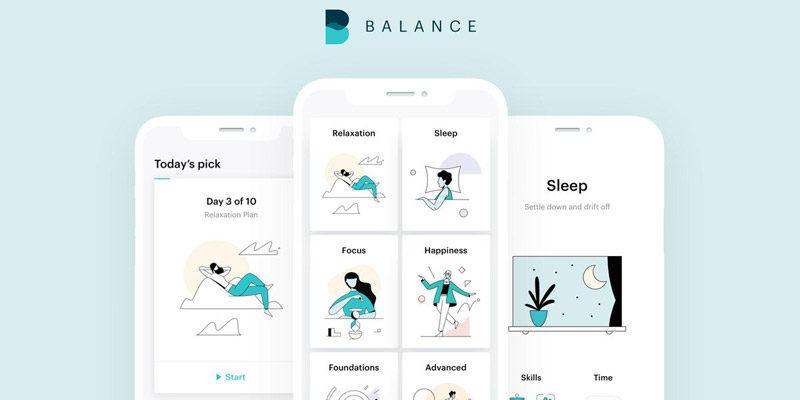 Balance Meditations-App für 1 Jahr kostenlos (Android & iOS)