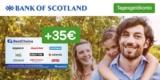 Bank of Scotland Tagesgeldkonto + 35€ BestChoice-/ Amazon Gutschein als Prämie + 0,5% Zinsen p.a.