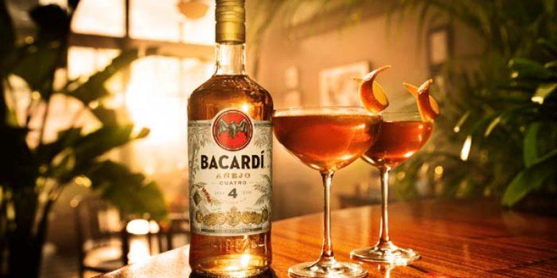 Gratis 50 ml Flasche Bacardi Cuatro mit Google Assistant (z.B. über Android Smartphone) & Alexa