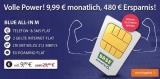 Base Blue All-in M Handyvertrag mit Allnet-Flat und 2 GB LTE Internet für 9,99€/Monat