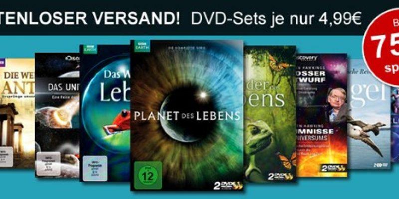 BBC-World & Discovery Channel Dokumentationen für nur 4,99€