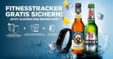 Gratis Fitnesstracker beim Kauf von 2x Sixpacks Beck's/Franziskaner Alkoholfrei oder Biermisch