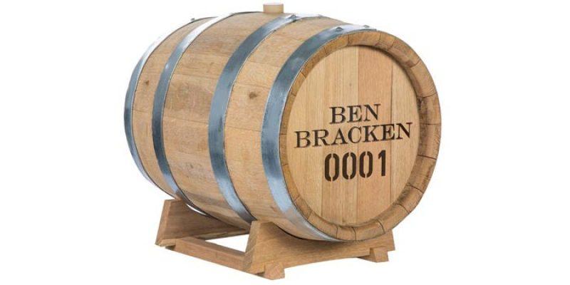 Ben Bracken Whiskyfass (30 Liter) für 999€ – Whisky zuhause lagern & reifen lassen