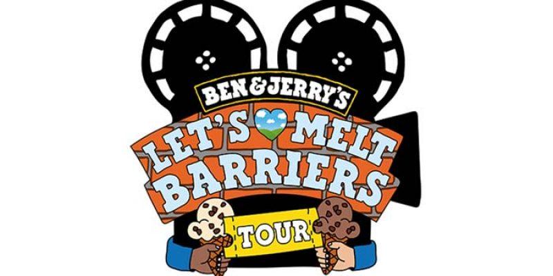 Ben & Jerry's Let's Melt Barriers Tour: Gratis Eis + Open Air Kino