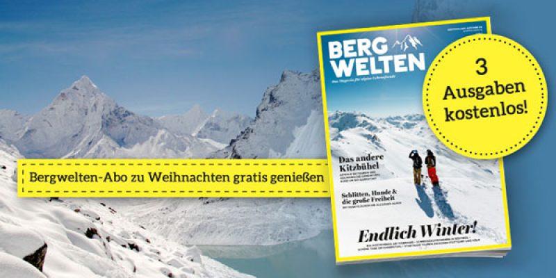 Bergwelten Abo – 3 Zeitschriften kostenlos!