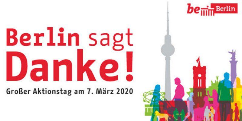 Berlin sagt Danke! Kostenloser Eintritt in Museen, Zoo, etc. am 07. März 2020