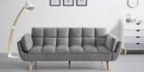 Bessagi Home Schlafsofa Cora in blau oder grau für 209,30€ + evtl. 49,99€ Versand
