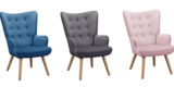 Bessagi Home Sessel Celina in versch. Farben für 75,25€ (inklusive Versandkosten)
