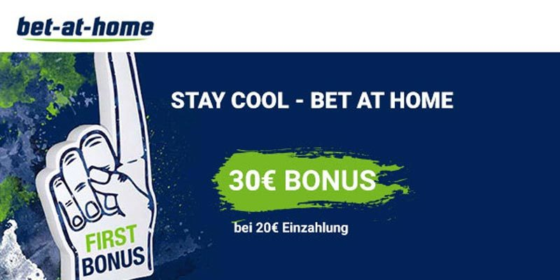 bet-at-home Bonus-Deal: 30€ BestChoice-/ Amazon Gutschein für 20€ Sportwette
