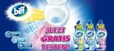 Biff WC-Reiniger gratis testen – Cashback Aktion