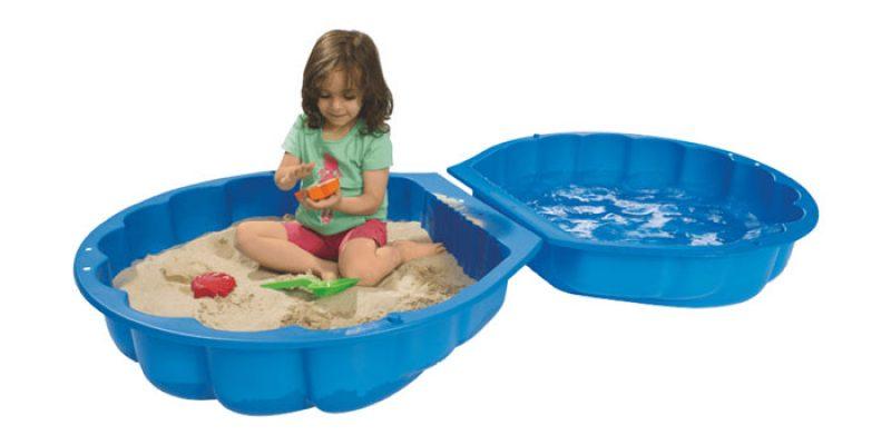 BIG Sandmuschel/Wassermuschel in blau für 11€