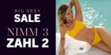 Hunkemöller Big Sexy Sale mit bis zu 70% Rabatt + 3 für 2 auf alles im Sale