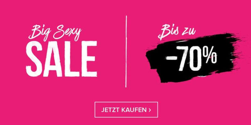 Hunkemöller Big Sexy Sale mit bis zu 70% Rabatt