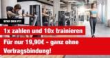 Bild FitnessCard: 10er-Karte für das McFit Fitnessstudio für 19,90€