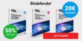12 Monate Bitdefender Antivirus Plus für 16€ + 20€ Amazon Gutschein = effektiv kostenlos