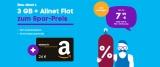 Blau Allnet L Sim-Only Tarif für 8,99€ + 24€ Amazon Gutschein oder Blau Allnet XL für 13,99€ + 39€ Amazon Gutschein