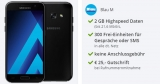Samsung Galaxy A3 2017 im Blau M Tarif für 12,99€/Monat