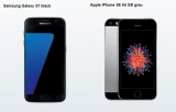Blau Allnet XL Tarif (All-Net Flat, SMS Flat + 4GB Internet Flat) + Samsung Galaxy S7 oder iPhone SE 64GB für 24,99€