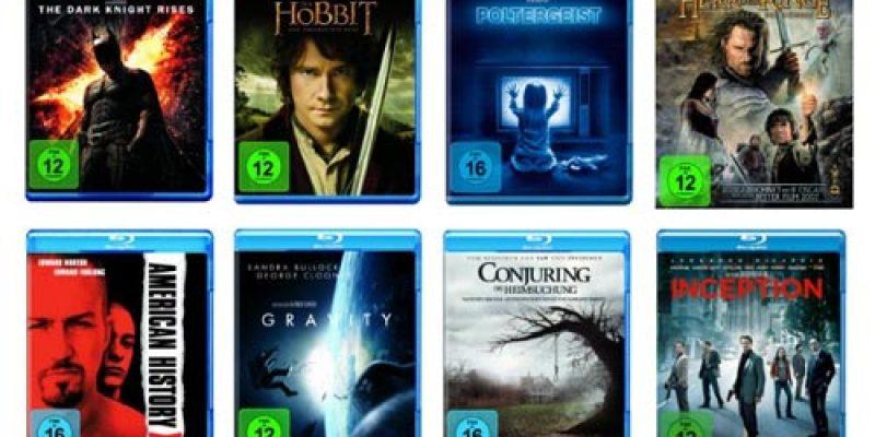 Amazon Blu-ray Aktion: 10 Blu-rays für 50€ – über 1.000 Filme