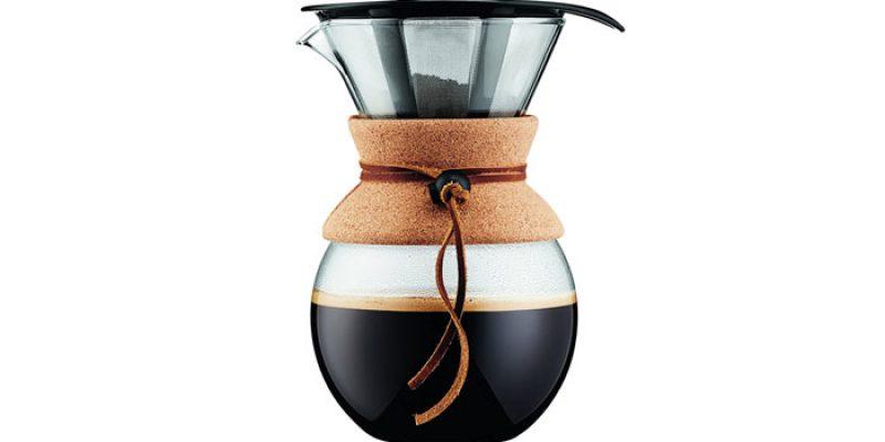 Bodum Kaffeebereiter Pour Over mit Permanentfilter für 22,90€