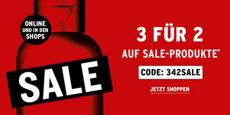 The Body Shop Kauf 3 Zahl 2 Aktion auf alle Sale-Produkte