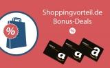 Spartipp Nr. 7: Amazon Gutscheine & Bargeld-Prämien sammeln (Bonus-Deals, Girokonten, Kreditkarten)