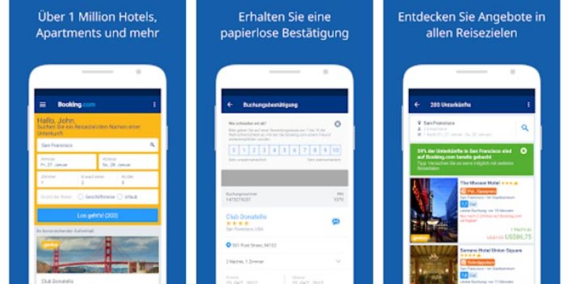 10€ Booking.com Guthaben geschenkt über die App
