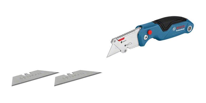 Bosch Professional Universal Klappmesser + 2x Ersatzklingen für 12,93€