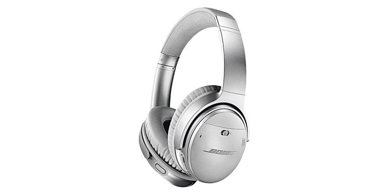 Bose QuietComfort 35 II Noise Cancelling Kopfhörer (silber) für 179,97€