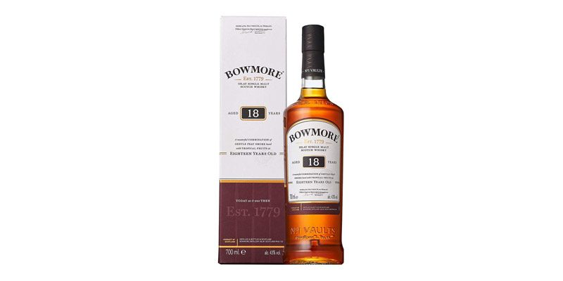 Bowmore Islay Single Malt Scotch Whisky 18 Jahre für 59,91€
