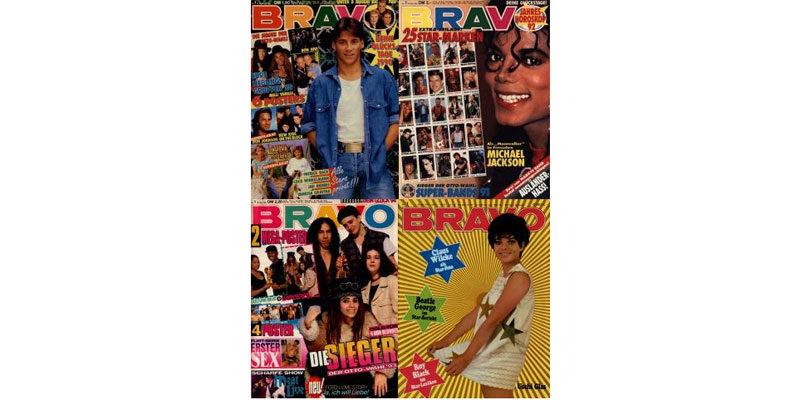 """Kostenlos: Alte Ausgaben der """"Bravo"""" (1956 – 1994) gratis als Download"""