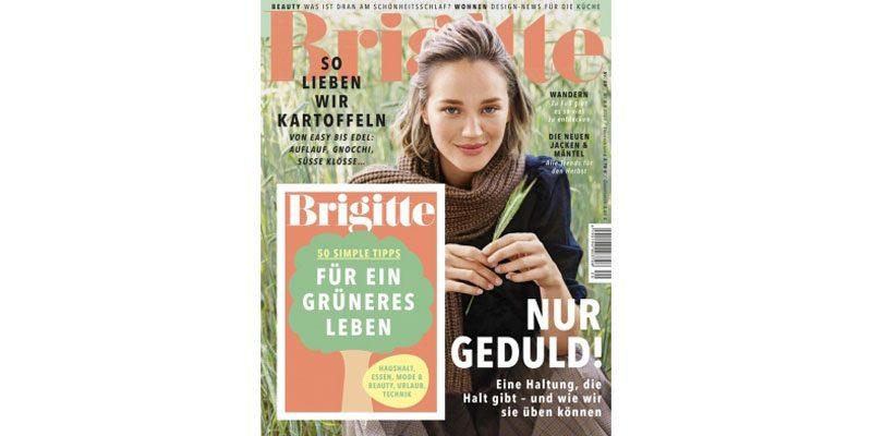 Brigitte Jahresabo für 104€ + 100€ Best Choice Gutschein als Prämie