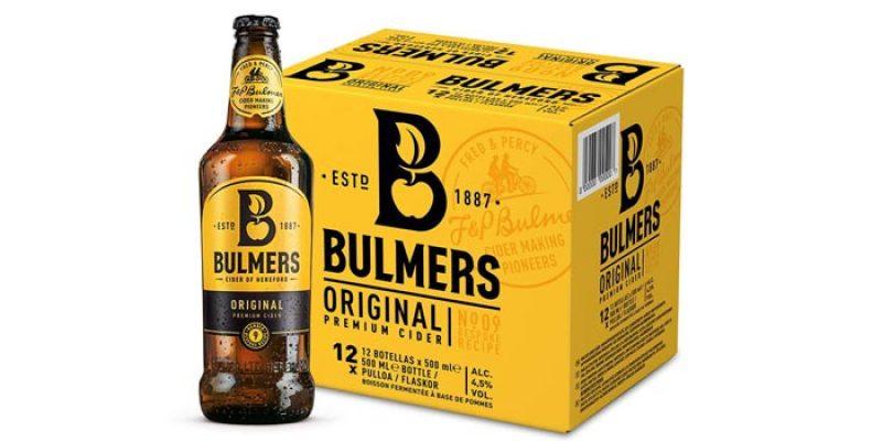 12x Flaschen Bulmers Cider Original für 19,99€