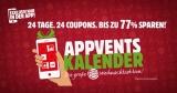 Burger King Adventskalender – Täglich ein neues Angebot