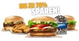 """Burger King """"Klaut dem Clown die Show"""" Aktion: 32 Gutscheine"""